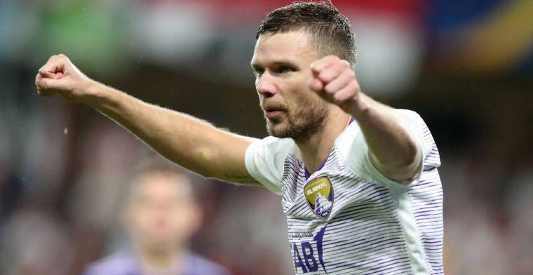 OFFICIEEL: Berg (32) gaat voetballen in Rusland