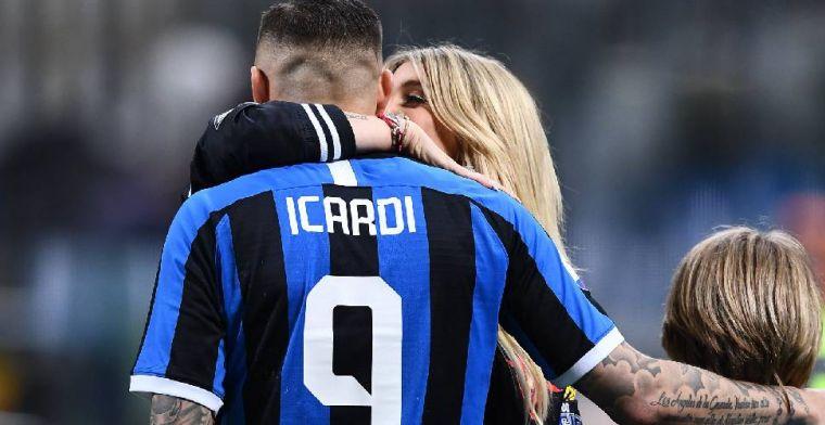 'Inter is Icardi en Nainggolan een stap voor en regelt personal trainer voor duo'