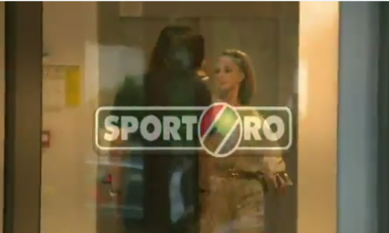 Afbeelding: Ongezien: Prodan, de vrouw en manager van Stanciu, slaat manager Astra