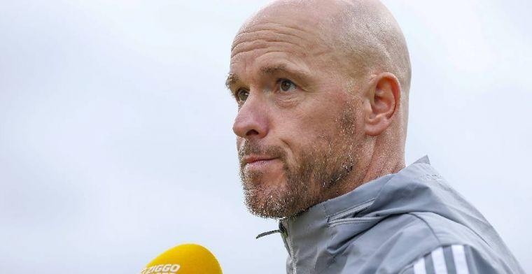 Ten Hag wijst naar eigen Ajax-spelers: Er komt een plekje vrij, dus wie wil?
