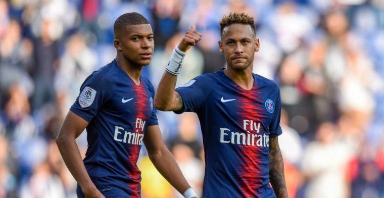 Neymar verrast: 'Toen we van PSG hadden gewonnen, werden we helemaal gek'