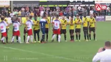VIDEOVERSLAG: KV Kortrijk verliest tegen NAC Breda na strafschop