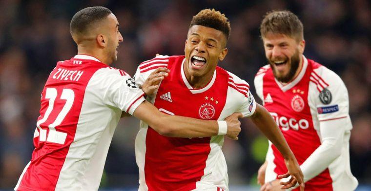 Overmars bevestigt bod op Neres: 'Het is de bedoeling dat Ajax leidend is'