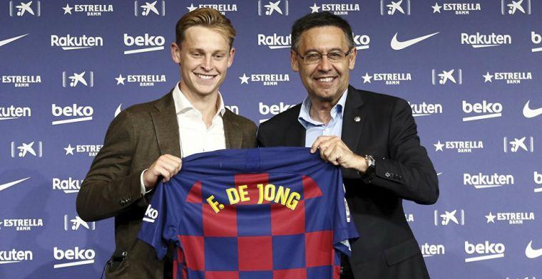 Update: Barça bevestigt rugnummers: De Jong met 21, Griezmann met 17