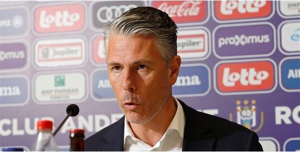 Anderlecht gaat vol voor nieuwe spits, Verschueren: Daar zitten we nog veraf
