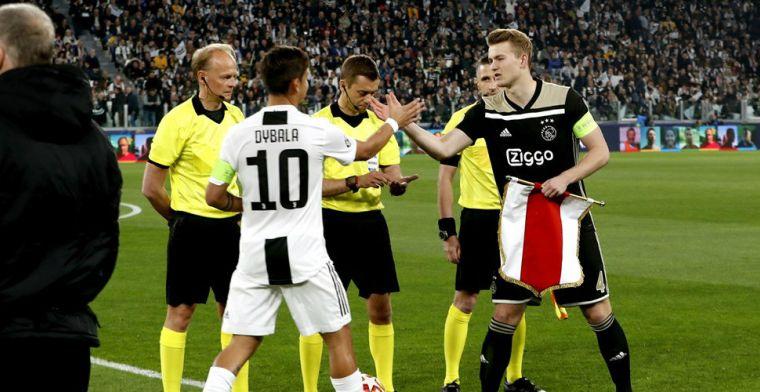 'De Ligt meldt zich dinsdag bij Juventus, Italianen melden lagere transfersom'
