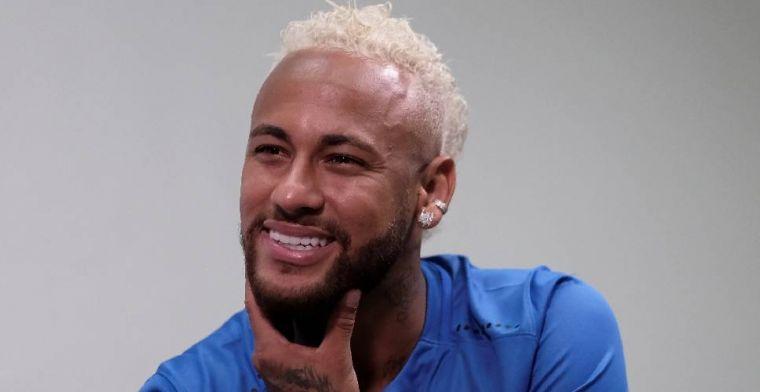 'Paris Saint-Germain hoort vertrekwens Neymar en deelt boete uit'