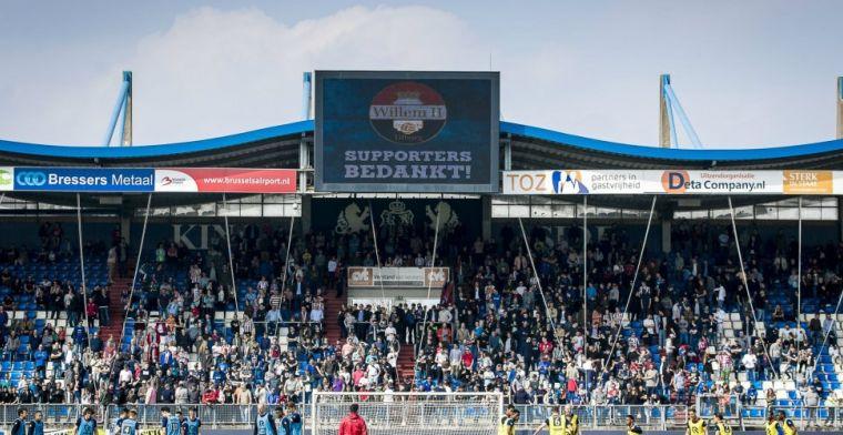 Willem II test verdediger: jeugdinternational tot en met zaterdag op proef