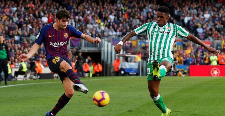'FC Barcelona nadert komst van Europees kampioen en beoogde concurrent Alba'