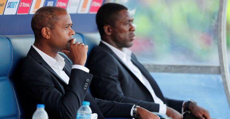'Seedorf moet weg bij Kameroen na Afrika Cup-fiasco en frictie met Kluivert'