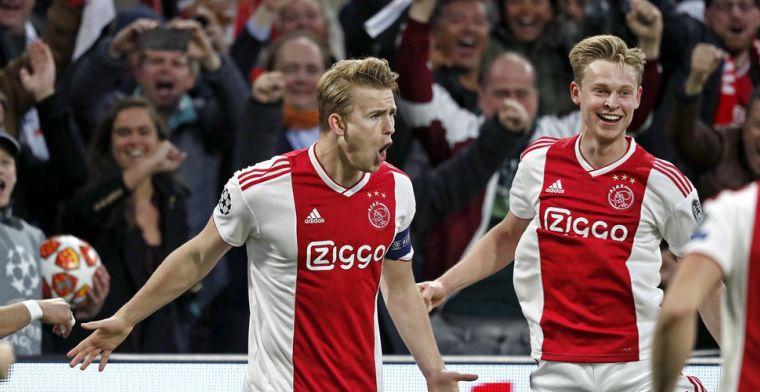 'Juventus wou bonussen, maar Ajax zei: nee, wij willen 75 miljoen. Krijgen ze ook'