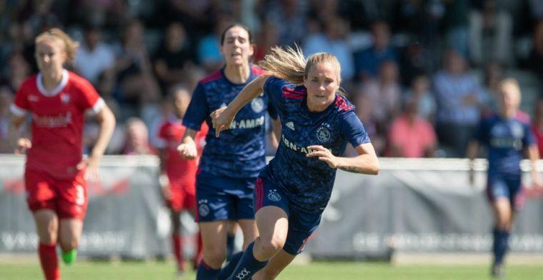 Van Lunteren verrast en keert na jaar terug bij Ajax: 'Zeker een ervaring rijker'