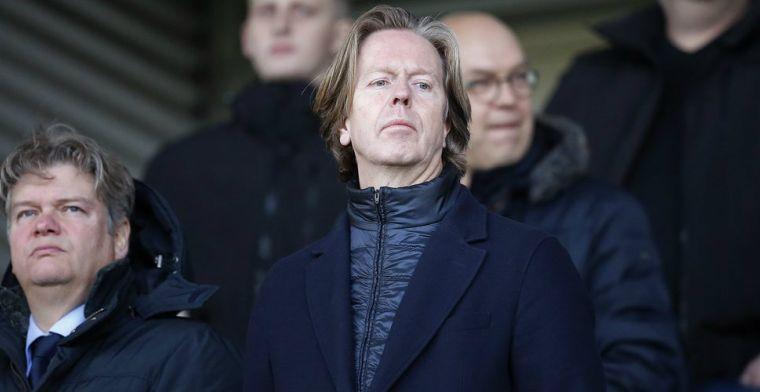 'Verrassend nieuws bij Feyenoord: algemeen directeur De Jong vertrekt'
