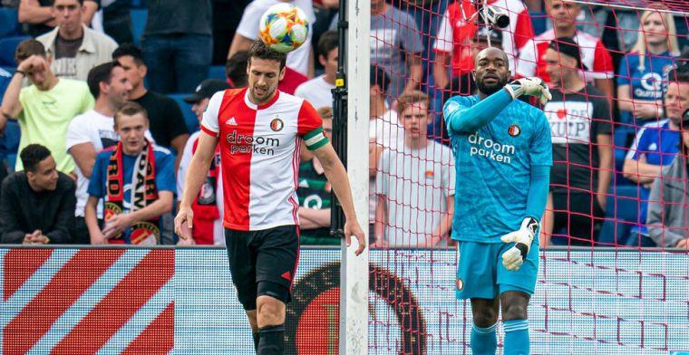 Feyenoord wordt weggecounterd door Panathinaikos en incasseert doffe dreun