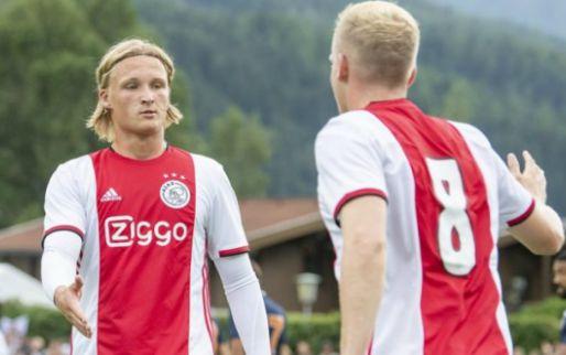 Ten Hag hoopt op doorbraak: 'Zolang ik bij Ajax ben, is hij nooit fit geweest'