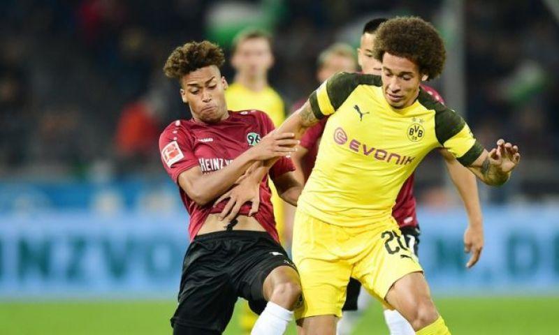 Afbeelding: In de aanval: Borussia Dortmund aast met Witsel en Hazard op revanche