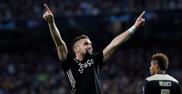 Tadic: 'Misschien hebben we het voetbal een beetje veranderd, kijk maar naar Juve'