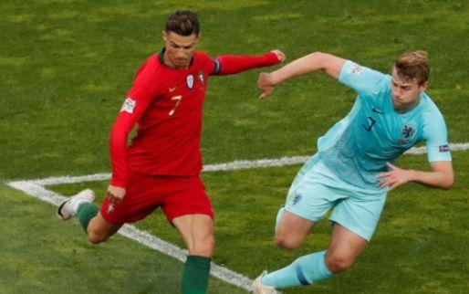 Afbeelding: De Ligt gepresenteerd door Juventus: 'Woorden van Ronaldo groot compliment'