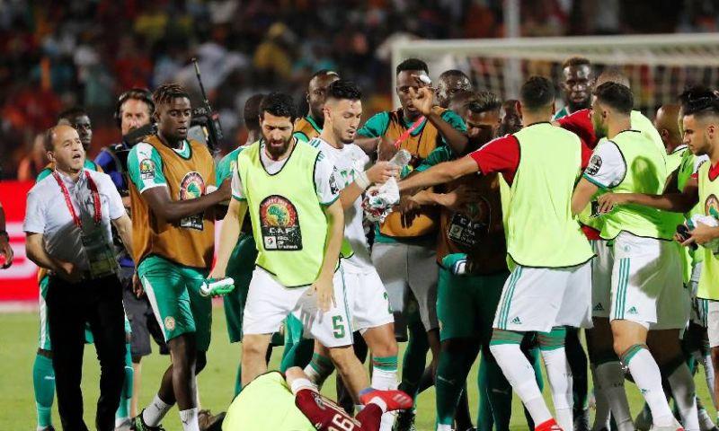 Afbeelding: Algerije wint opgefokte Afrika Cup-finale na vroeg openingsdoelpunt