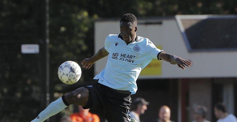 Nieuwkomer van Club Brugge moet nog aanpassen: 'Hij zag er niet goed uit'