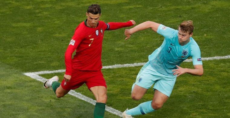 De Ligt gepresenteerd door Juventus: 'Woorden van Ronaldo groot compliment'