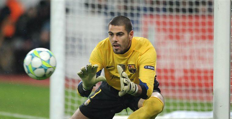 'Legende' Valdes keert terug bij Barcelona en opent met wedstrijd tegen Ajax O19