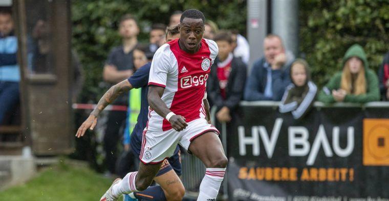 Promes: 'Ik begrijp dat het voor mij ophield bij Ajax, ik had een grote mond'