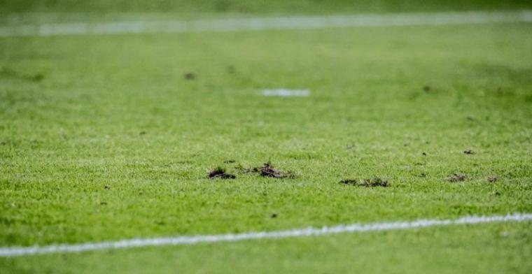 'Onrust in Heerenveen: Duitse fans zoeken confrontatie en zetten boel op stelten'