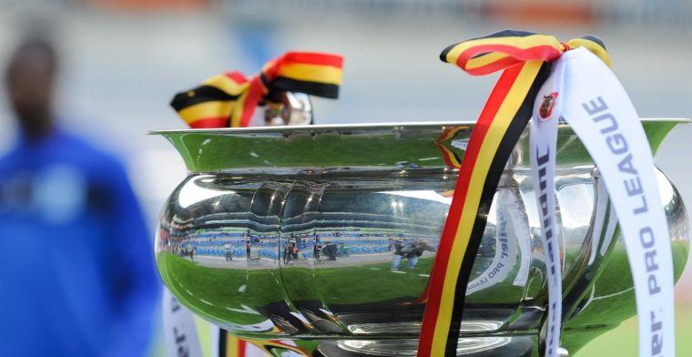 OPSTELLING: Racing Genk en KV Mechelen strijden om de eerste prijs van het seizoen