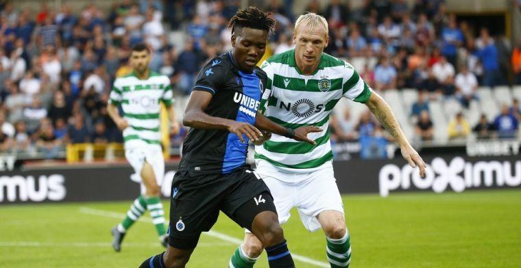 Deli en Okereke lijken het al goed te vinden bij Club Brugge: 'First trofee'