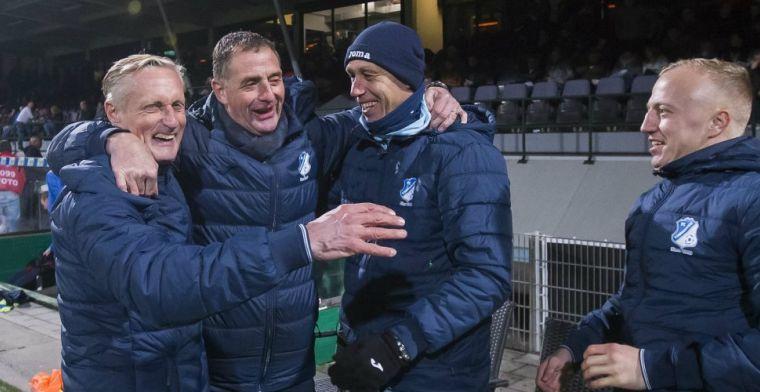 FC Eindhoven kondigt twintig dagen voor seizoenstart trainerswissel aan