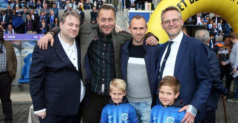Feyenoord-koningskoppel even herenigd in Genk: Genoten van het ventje Buffel