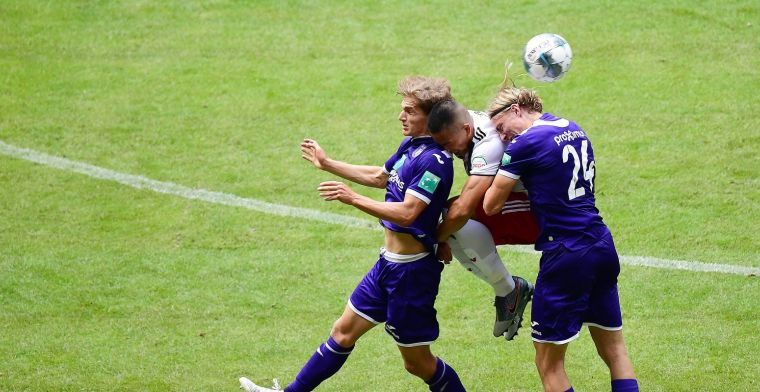 Invallers van Anderlecht zorgen voor draw tegen Hamburger SV