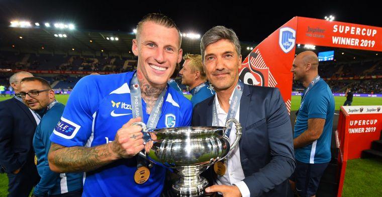 Mazzu wint meteen eerste prijs met KRC Genk: Ben trots op mijn spelers