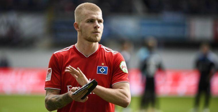Van der Vaart geeft negatief advies aan Van Drongelen: Even serieus: Augsburg?