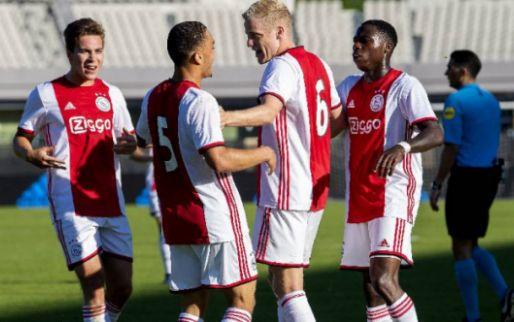 Afbeelding: Ajax sluit voorbereiding af met nederlaag: Panathinaikos te sterk in Amsterdam