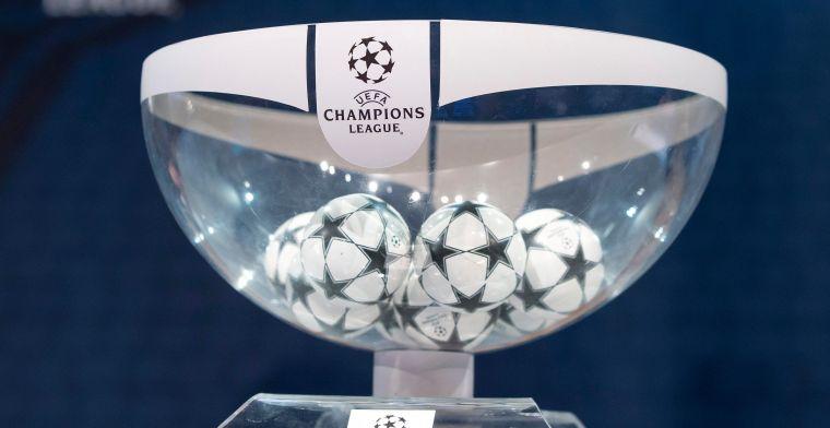 LIVE: Loting Champions League en Europa League met Club Brugge, Antwerp en Gent