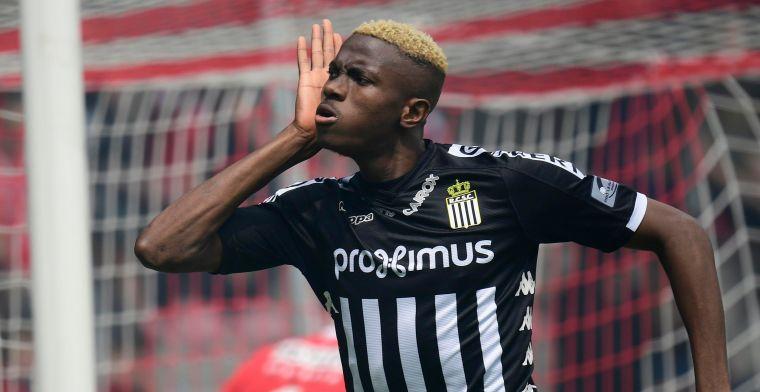 'Charleroi wil de jackpot, Osimhen zelf wil helemaal niet weg op Mambourg'