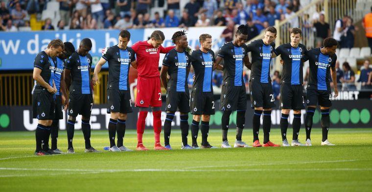Club Brugge sluit zijn oefencampagne af met gelijkspel tegen Deinze