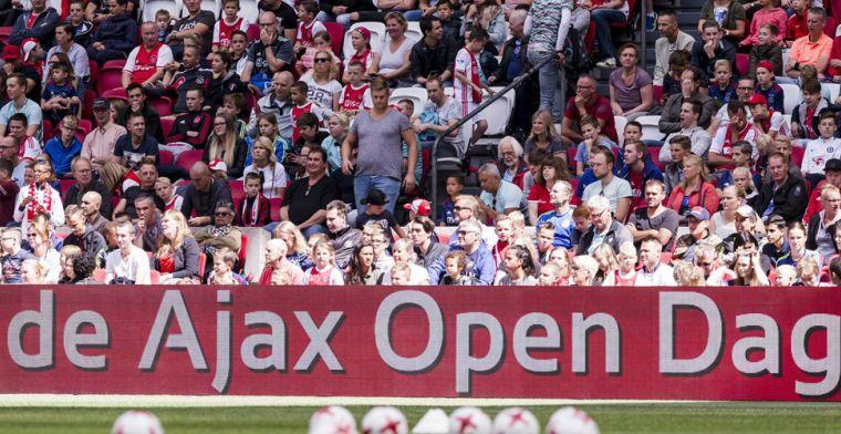 Update: Voorlopig geen Open Dag Ajax: 'Ajax zoekt naar alternatieven'