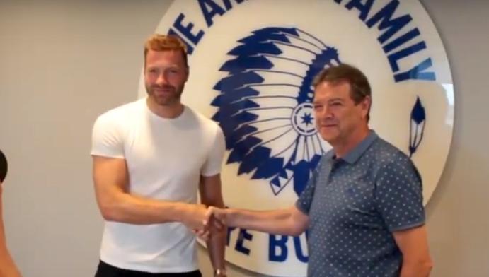 """The Beast Depoitre reageert op Gent-transfer: """"Een grote eer om terug te keren"""""""