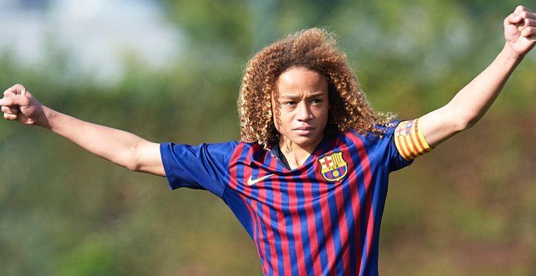 'Supertalent' Xavi Simons (16) vertrekt bij Barcelona: 'Voor altijd in mijn hart'