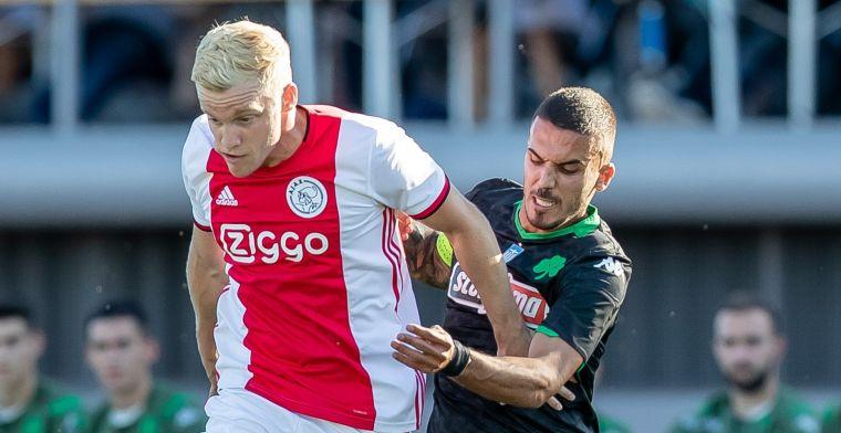 'Ik ben hartstikke gelukkig bij Ajax, vind het nog steeds mooi om hier te spelen'