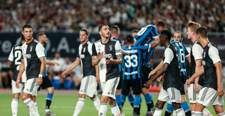 Ronaldo en Buffon redden De Ligt na vroeg eigen doelpunt tegen Inter