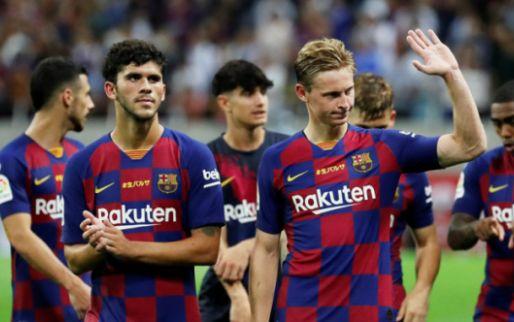 Afbeelding: Barça wint oefenpot in Japan tegen het Vissel Kobe van Iniesta en Vermaelen