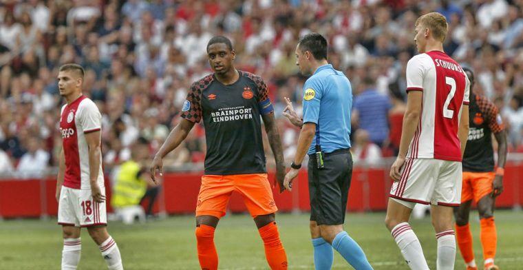 Rosario baalt van 'te schijterig' PSV: 'Dan verlies je deze wedstrijd'