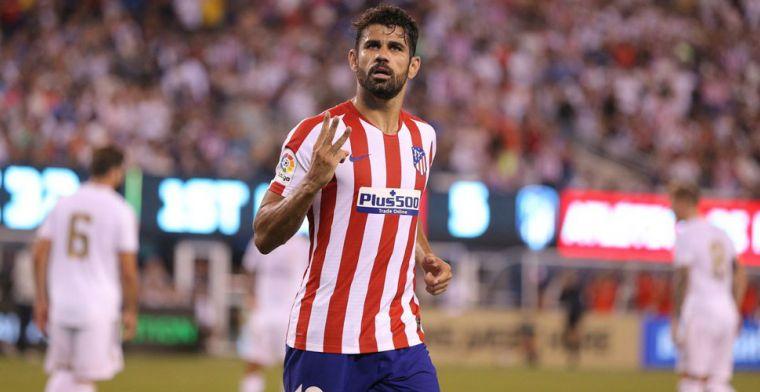 Real Madrid incasseert zeven goals tegen Atlético: vierklapper en rood voor Costa