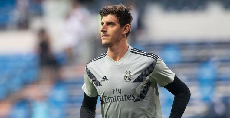 Vernedering voor Real Madrid: 'Courtois in een vol stadion luidkeels uitgejouwd'