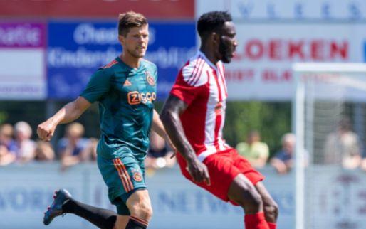 Afbeelding: Mazraoui en Tagliafico maken eerste minuten, Ajax gelijk tegen Turken