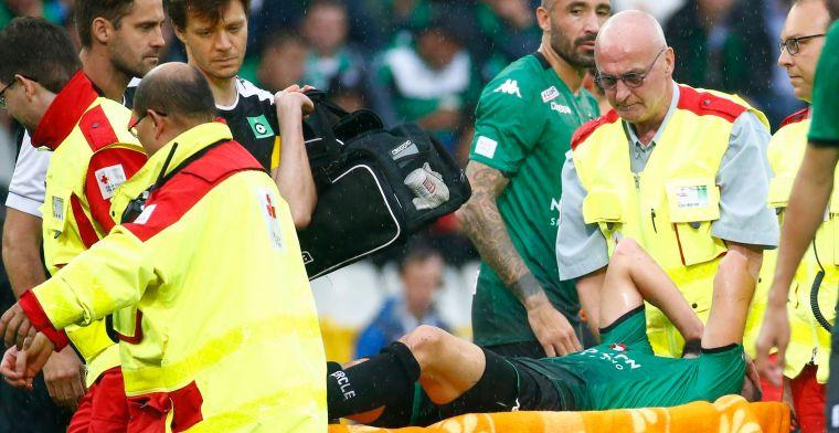 Pech voor Cercle Brugge en De Belder: aanvaller staat maanden aan de kant